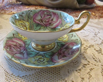 ENGLAND TAYLOR and KENT Teacup and Saucer Set