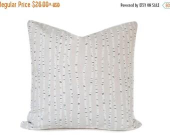 Sale Beige pillow Cover - Birch Tree pillow - Neutral pillow - White pillow - Tree pillow - Modern pillow - Scandinavian pillow