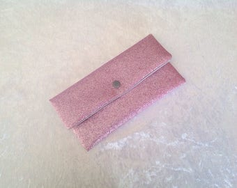 Pouch pink fully sequined guaranteed shine