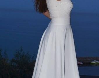 Overskirt wedding skirt,  overskirt with train , wedding skirt,  detachable wedding skirt, detachable tulle skirt, wedding dress.