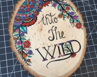 Into The Wild Wood Slice