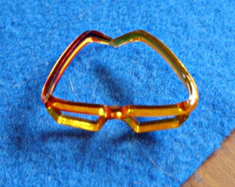 """Vintage 8"""" Doll *AMBER GLASSES* For Ginny, Jill, Ginger, Little Miss Revlon  -8"""" or 10"""" Doll Accessories"""