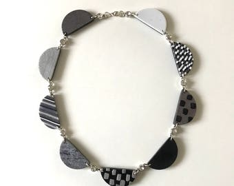 Project Runway inspired scallop necklace - from season 15 designer Rik