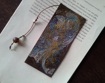 "Bookmark leather small size for Pocket Book ""5 x 12"""