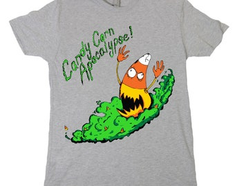 Halloween Shirt: Candy Corn Apocalypse T-Shirt