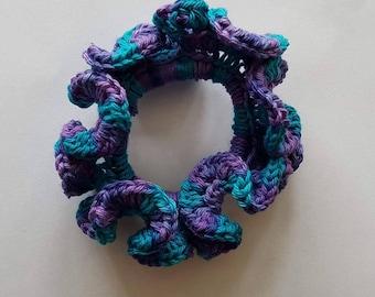 Scrunchie Purple/Blue Mix