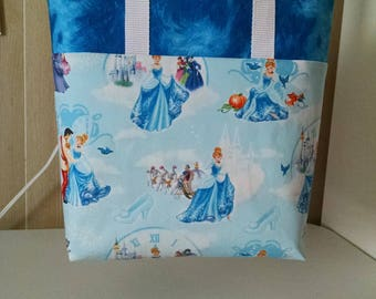 Girls Cinderella Tote Bag Library Bag Ladies Tote Preschool Bag