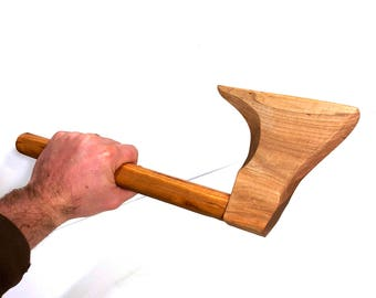 Toy Wood Axe | Toy Wood Cutters Axe | Wooden Toy Axe | Toy Wood Chopping Axe | Wood Toy Axes | Handmade Play Toy Axe | Play Wood Toy Hatchet