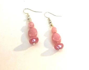 Handcrafted ceramic Pearly pink