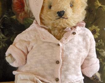 "Vintage Teddy Bear - Chad Valley - Katie - c 1940/50 18"" 95"
