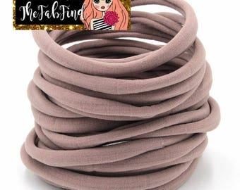 Tawny Nylon Headband | One Size Headband | THIN Soft Nylon Headband for baby and adults| Premium Infant & Baby Headbands | BULK