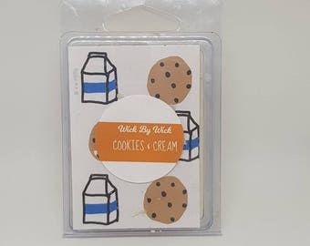 Cookies and Cream Milk Oreo Scented Soy Wax Melt