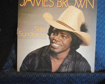 James Brown Soul Syndrome Record LP Album