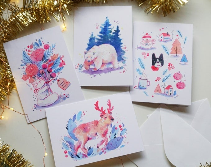 Holiday Cards - 4 Designs