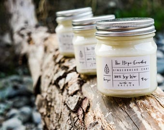 FREE SHIPPING -- Choose any 5 candles and receive free shipping!