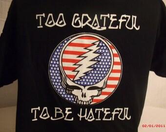 Grateful Dead Shirt. Steal your face T shirt.
