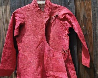 Vintage Red Chinese Jacket
