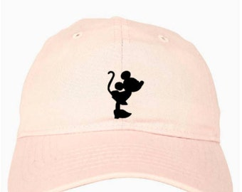 Disney Hat - Disney Baseball Cap - Disney Minnie Hat - Disney Baseball Hat - Mickey Mouse Hat - Mickey Ears - Disney Ears