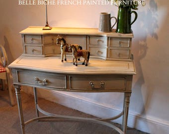 FOR SALE Exquisite Reproduction George III Bonhuer De Jour / Writing Table