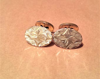 Gold Filled Lily Cufflinks