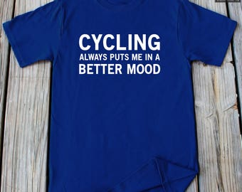 Bicycle T-Shirt Cycling Shirt Bicycle Gift Husband Gift Shirt Bike Shirt Bicycle Riding T-Shirt Cycling Gift Bicycle Gift Funny Bike t shirt