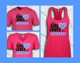 This Girl Loves Her Airman Shirt