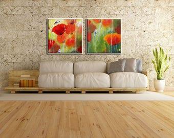 Canvas Set Abstract Home Decor, Art Set, Abstract Wall Decor, Abstract Painting, Original Painting, Original Wall Art, Abstract wall Art
