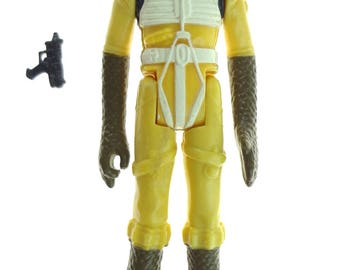 Star Wars Action Figure Bossk Bounty Hunter 1980 FLF