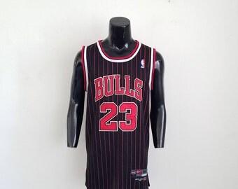 Vintage Nike Michael Jordan Chicago Bulls Swingman Jersey Sz. 52 (XL)