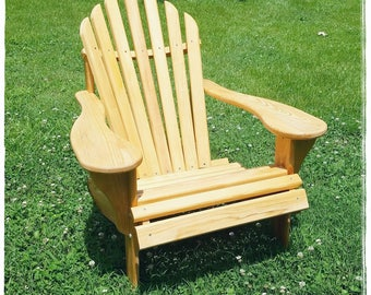 Classic Adirondack Chair, Cypress Adirondack Chair, Outdoor Furniture, Patio Furniture, Deck Furniture, Housewarming Gift, Relax