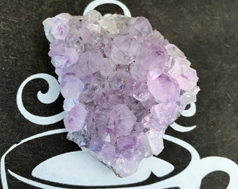 Amethyst Crystal Cluster w/ Reki, Healing Crystals and Stones