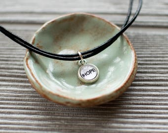 Hope Dainty Anklet, Inspiring Boho Anklet Bracelet, Cute Gifts for Teen Girls, Christian Bohemian Anklet, Addiction Recovery Anklet, 602074