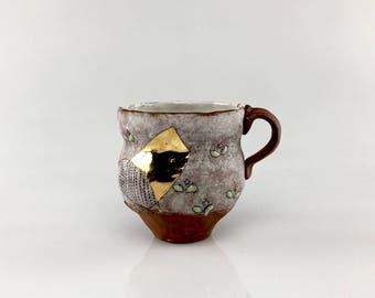 Handmade Ceramic Garden Mug
