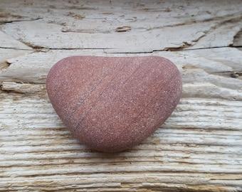 Natural Heart Stone -Valentines Day Decor -Heart Shaped Stones -Heart Rock -Heart Beach Stone