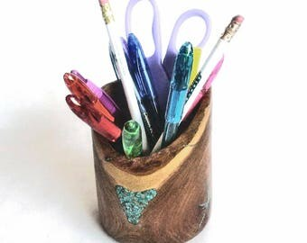 Mesquite Pencil Cup...my new shape