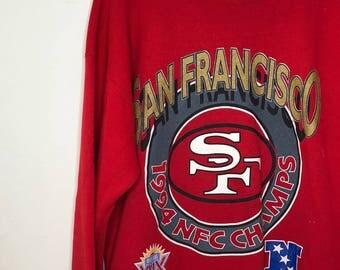 1994 San Francisco 49ers Crewneck