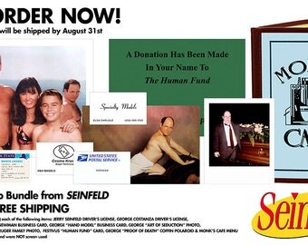 PRE-ORDER *** Seinfeld Replica Prop Bundle - Includes 10 Iconic Items from the Show About Nothing!
