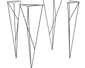 Modern Welded Hairpin Legs (Set of 4) Table legs, Desk Legs