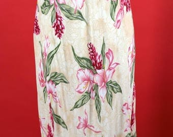 Kaua'iana Hawaiian Dress Large