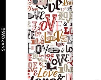 Vintage Love Phone Case, Love Phone Case, iPhone 7 Love Case, iPhone 7 Case, Samsung Phone Case, Samsung Case, Love Quote Phone Case, Love