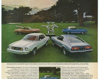 1974 Ford Mustang II Ad (74-MT-07)