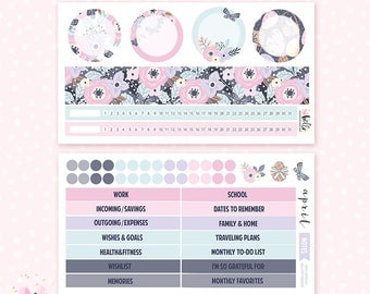 April Notes Page Kit (EASTER) - 2 sheets / for the Erin Condren planner notes pages