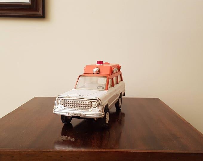 1973 Vintage Tonka Jeep Ambulance