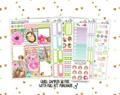 Vertical Sticker Kit   Weekly Sticker Kit   Watercolor Stickers   Spring Kit   Over The Hedge   Hedgehog Stickers