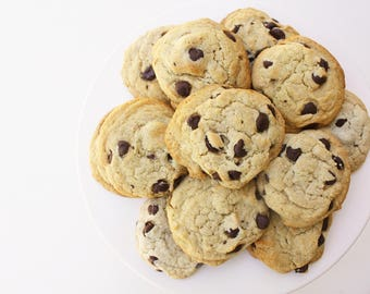 Chocolate Chip Cookies  / Dairy Free Cookies / Fair Trade Chocolate