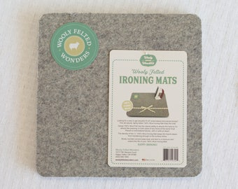 how to make a wool pressing mat