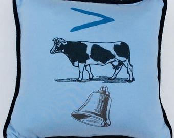 More Cowbell Cushion