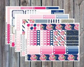 Planner Sticker Kit - Glam Garden [660]