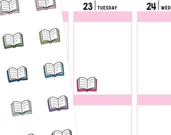 Book Planner Stickers, Book Stickers, Study Planner Stickers, School Stickers, Reading Stickers, School Planner Stickers