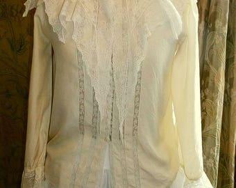 Antique Lacy Blouse